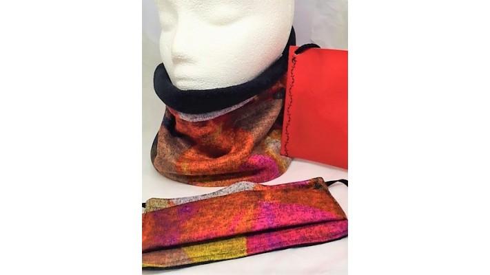 Cache-cou et couvre-visage Multicolore