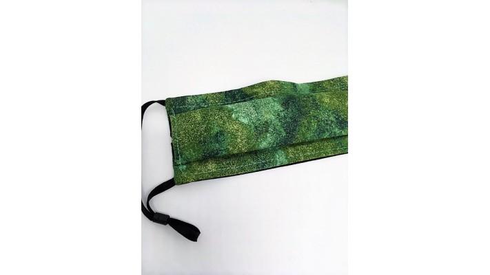 Masque / Couvre-visage Tons de vert